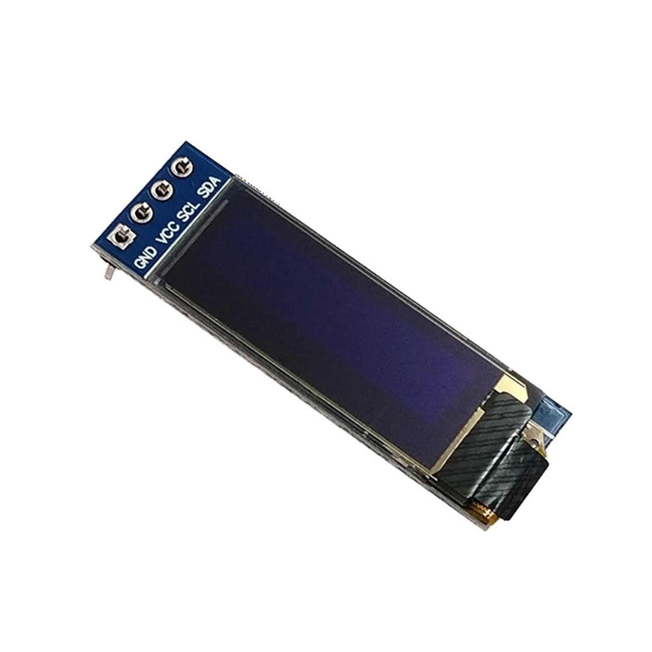 """0.91 pouces 128x32 I2C IIC série blanc bleu OLED module d'affichage à cristaux liquides 0.91 """"12832 SSD1306 écran LCD pour Arduino"""