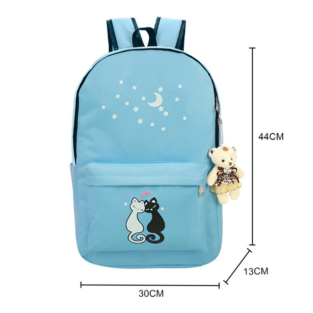 Animal Star Printing Backpack Women