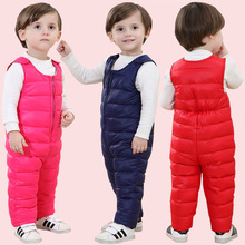 Overalls for boys Warm baby sleeveless