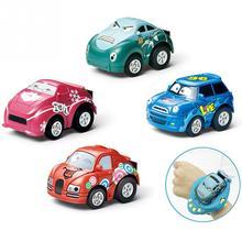 Новая власть-зондирования дистанционного управления автомобилем Часы игрушки детей мини-автомобиль игрушки
