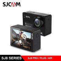 SJCAM SJ8 Pro/SJ8 Plus/SJ8 Air Action camera 4 K 60fps двойной сенсорный экран WiFi Спортивная камера DV пульт дистанционного управления шлем камера