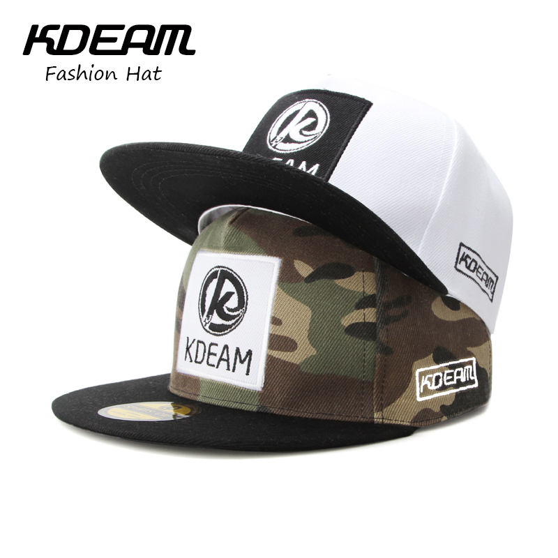 KDEAM Brand 2017 New Summer Caps 3D Embroidery desgin fashion men Flat Baseball Cap women Beach hat caps 3 colors Good quality