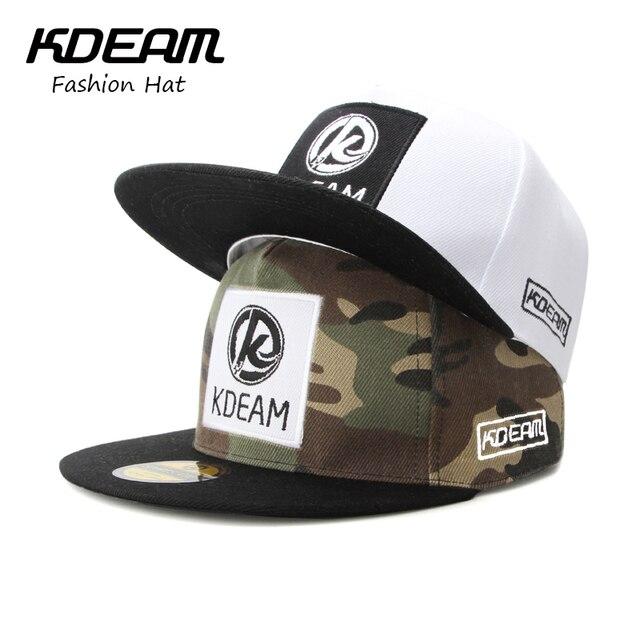 Kdeam brand 2017 Nuevo verano tapas 3D Bordado desgin moda hombres gorra de béisbol  plana mujeres 8674d522c66