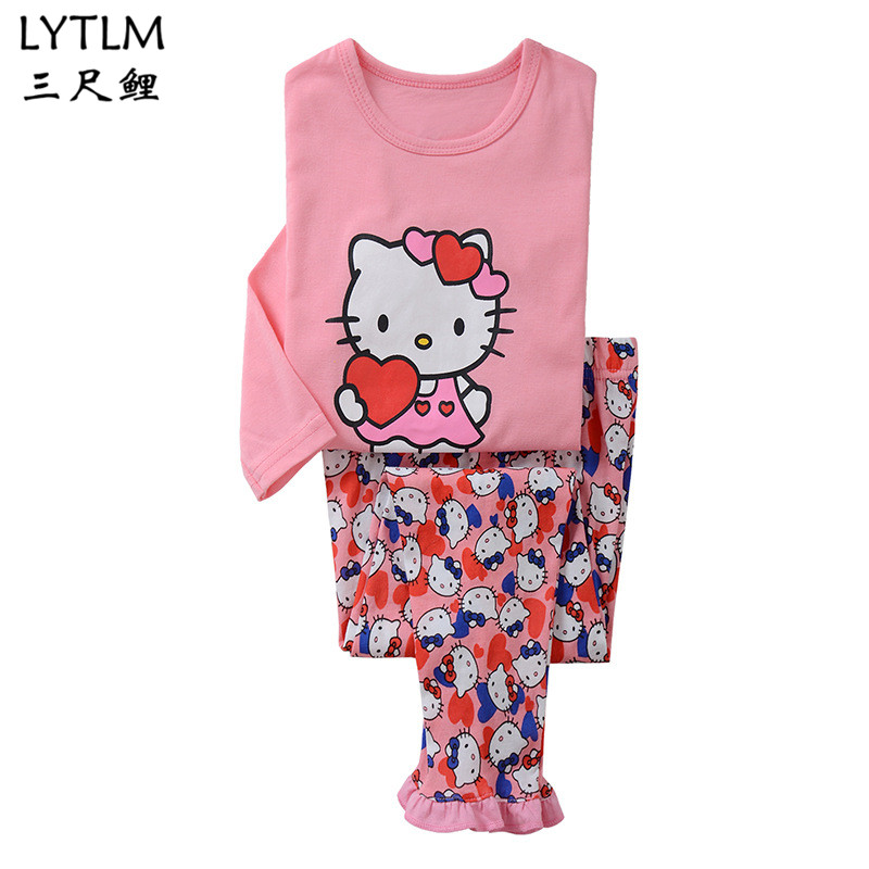 0ba75f04a LYTLM Robocar Poli Clothes Girls Kids Pajamas Set Baby Boys Pajamas ...