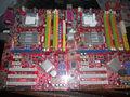 Frete grátis 100% motherboard original para msi p43 neo ddr2 lga 775 desktop motherboard