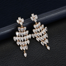 Buy white gold chandelier earrings and get free shipping on idestiny large chandelier earrings made with aloadofball Choice Image