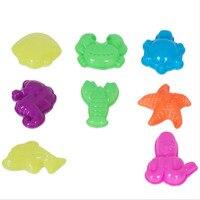 New Arrival Plasticine Tool Mold Sea Animal Castle Transportation Shape Multiply Color In 1 SET Plastic