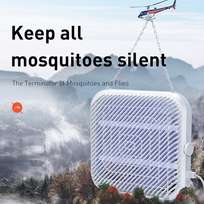 Image 5 - BASEUS UV USB Light Mosquito Killer Electric Mosquito Killer Lamp  Photocatalysis Mute Home LED Zapper Insect Trap RadiationlessUSB  Gadgets