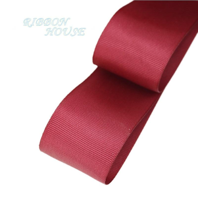 (5 м/лот) 40 мм красный соус корсажная лента подарочная упаковка оптом Новогоднее украшение ленты