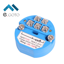 4-20MA -50~150 Celsius RTD PT100 SBW Temperature Meter Transmitter Isolated Sensor -50-150 Degrees(China)