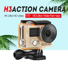 GEEKAM action camera H3 Original ultra camaras HD 4K WiFi 1080P 60fps waterproof 170D sport camera