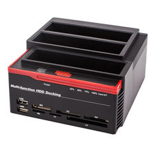 Multi Function External Three Bay USB 3.0 to SATA IDE 2.5