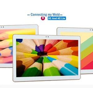 Image 1 - Android 8.0 Akıllı tablet adet android tablet pc 10.1 inç 10 çekirdek MTK6797 tablet bilgisayar Ram 4 GB Rom 32 GB 64 GB 1920X1200 8MP
