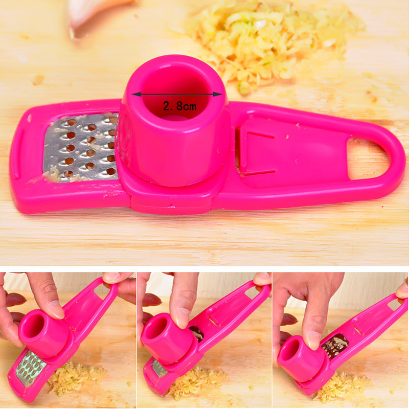 Creative Multifunction Mill Grinding Garlic Home Kitchen Gadgets Tools MT36