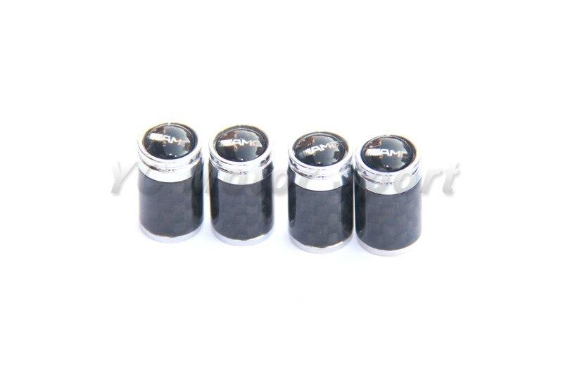 Car font b Accessories b font Carbon Fiber Chrome Metal Car Wheel Tire Tyre Valve Cap