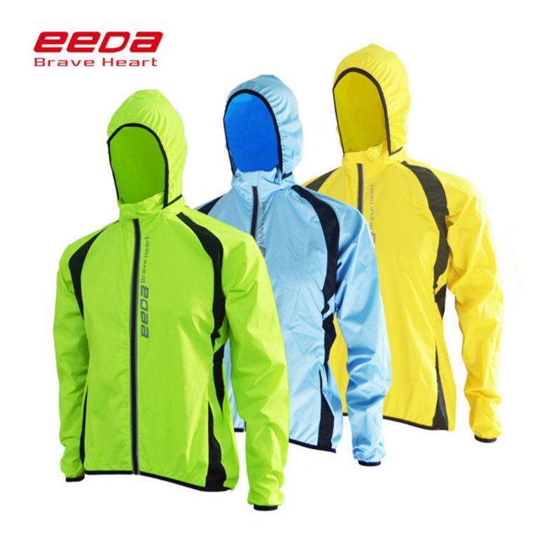 Prix pour Eeda vtt maillots de cyclisme veste de pluie imperméable coupe-vent imperméable vélo vélo clothing hommes femmes cycle windcoat vêtements