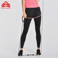Syprem Fitness Koşu Gym Yoga Eğitim Tayt Spor Kadın Spor Pantolon İki Tek Tayt Geniş Bel Elastik Pantolon