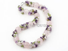 Chunky Big FreshWater Pearl Natural stone Necklace for Women Handmade Statement bohemian Pearl Jewelry offer Drop shipping