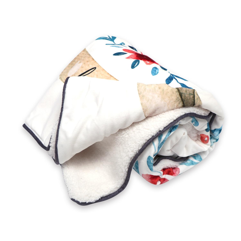 cobertura luxuosamente macia do bebe azul bebe 39 01