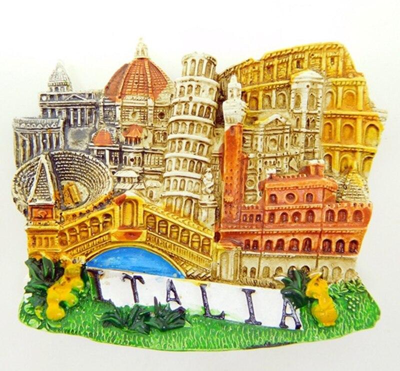 Hingebungsvoll 3d Italien Venedig Tourismus Memorial Handgemachte Harz Kühlschrank Kühlschrank Magnet Home Dekoration Handwerk Souvenir Sammlung Neue üBerlegene Leistung Ornamente