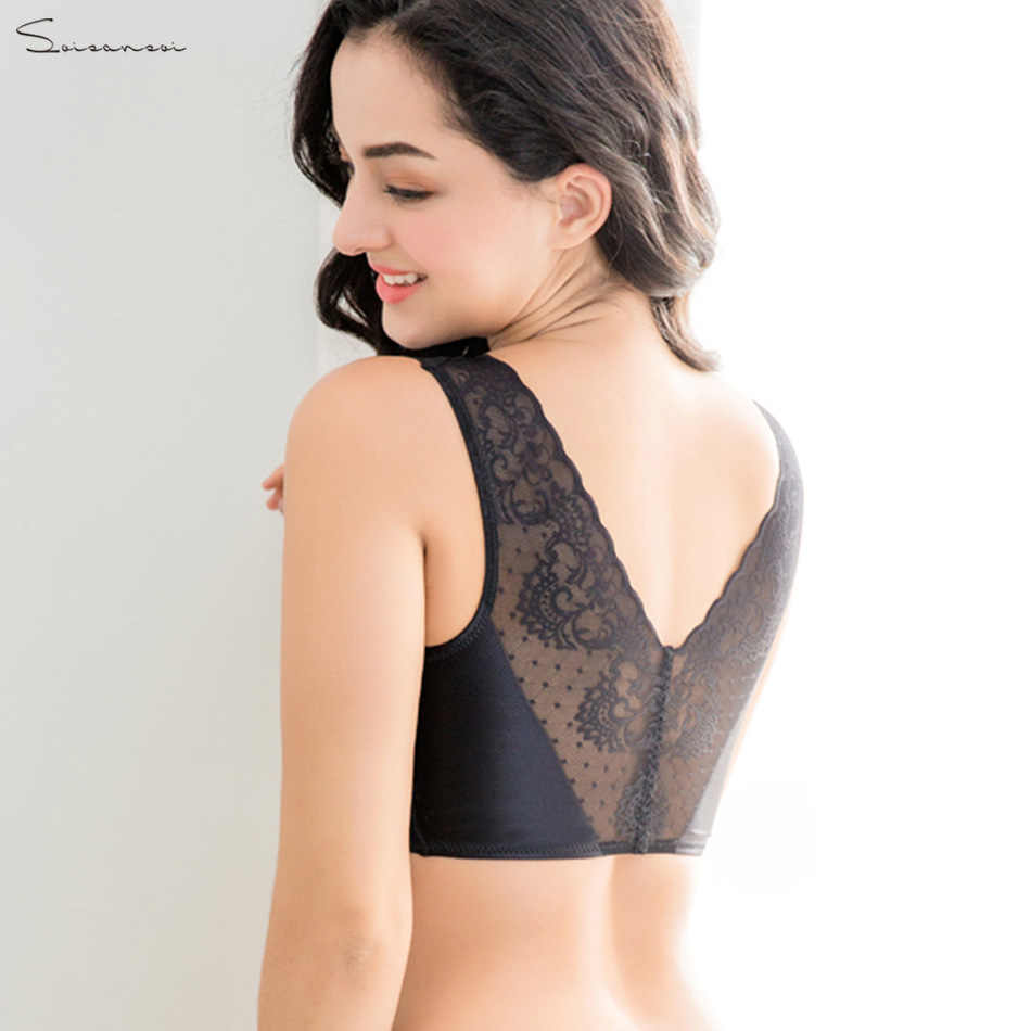 f04f50a40a2cc Top selling product in 2019 Spandex lingerie seamless lace bra breathable  push up bra for small