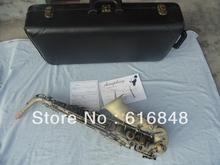 Wholesale– Be sure to watch very beautiful grind arenaceous bronze archaize alto saxophone
