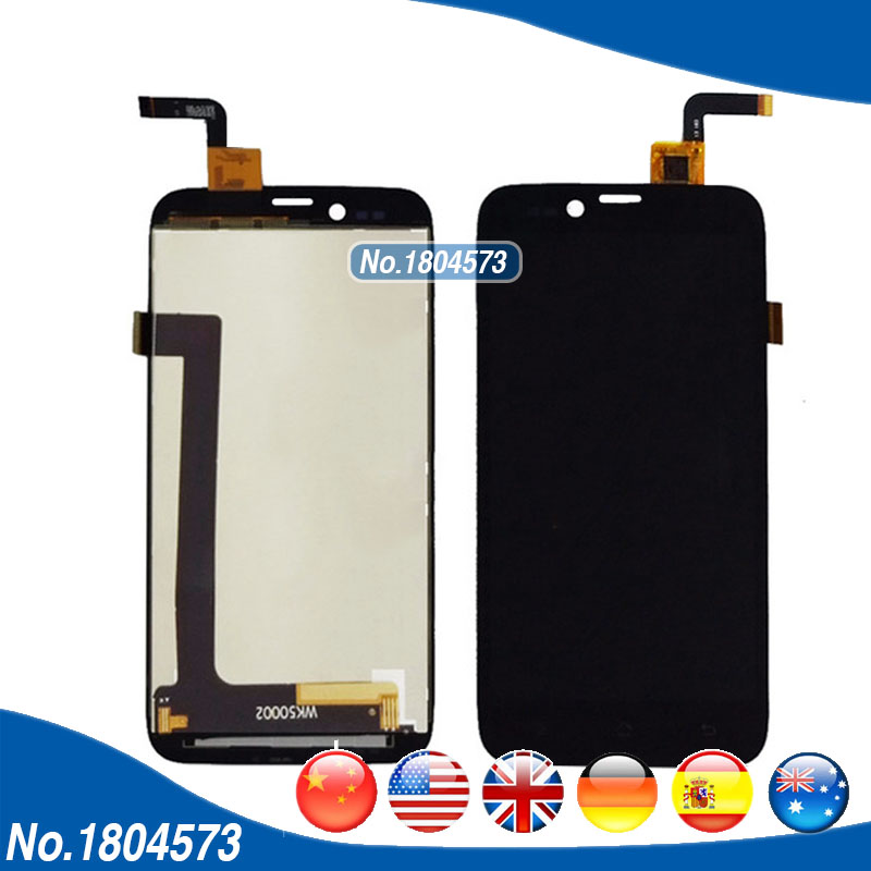 LCD Complete For Archos 50 Platinum LCD Screen Display And Touch Panel Digitizer Assembly 1PC/Lot