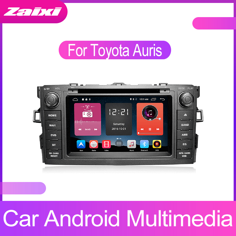Android Car Multimedia player GPS Navigation 2 Din For <font><b>Toyota</b></font> Auris <font><b>E150</b></font> Blade 2006 2007 2008 2009 2010 2011 2012 WIFI Radio Map image