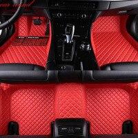 Автомобильный коврик для ног chrysler 300c grand voyager водонепроницаемые автомобильные аксессуары для укладки