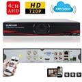 SUNCHAN HD 1080N 1080N Saída HDMI CCTV 4CH Gravador De Vídeo Digital 4 Canal DVR NVR Sistema De Vigilância Por Vídeo