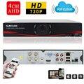 SUNCHAN HD 1080N 1080N Salida HDMI Grabador de Vídeo Digital CCTV 4CH 4 Canales NVR DVR Sistema de Video Vigilancia