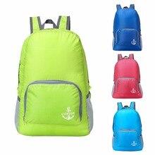 Lightweight Foldable Waterproof Nylon Women Men Skin Pack Backpack 20L Travel Outdoor Sports Camping Hiking Bag Rucksack