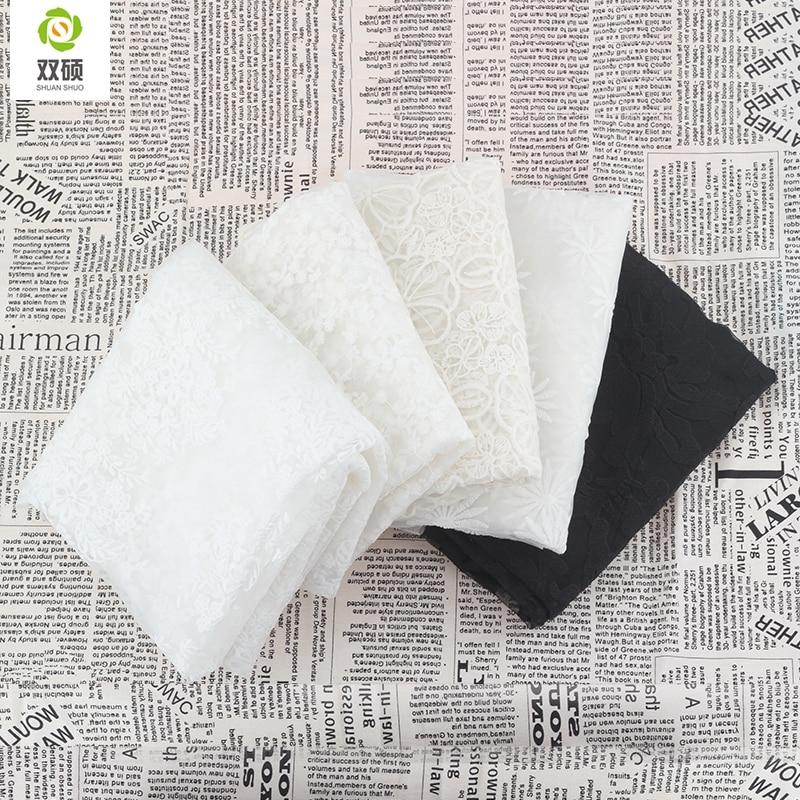 Clothing accessories fabrics wedding cotton cloth diy lace
