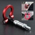 New Red Racing Screw Aluminum CNC Tow Towing Hook Trailer For Honda S2000 AP1 AP2  2000 2001-2009 / Honda Fit Jazz 2003-2007