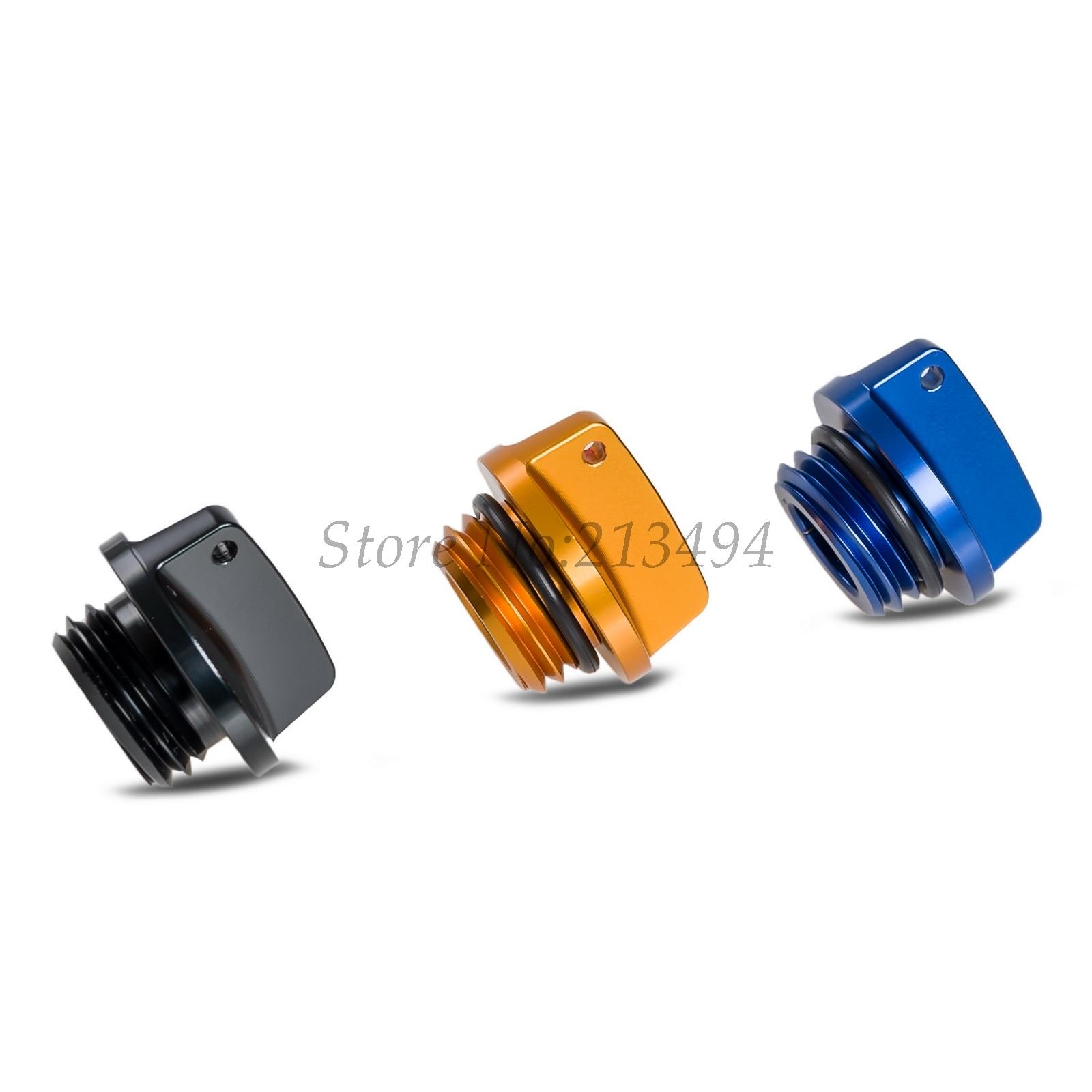 NICECNC Filtre À Huile Moteur Cap Plug Pour Yamaha R1 R3 R6 R25 FZ1 FZ6 FAZER FZS1000 MT07 FZ07 TDM850 MT03 MT25 FJR1300 XJ900 FZ6R