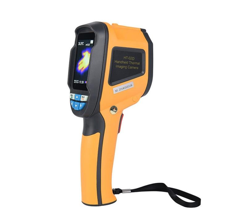 HT-02D caméra d'imagerie thermique à main thermomètre infrarouge infrarouge thermomètre infrarouge infrarouge termometro infravermelho