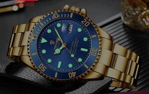 Image 4 - Tevise 럭셔리 방수 자동 남자 기계식 시계 자동 날짜 전체 철강 비즈니스 최고 브랜드 남자 시계 방수 T801
