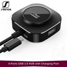 SeenDa USB HUB 3.0 High Speed 4 Ports 2.0 HUB Portable OTG HUB USB Splitter Adapter for Apple Macbook Air Laptop PC Accessories