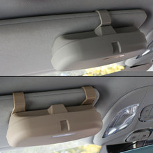 Jameo авто зажим для очков билет держатель для карты ABS автомобиля чехлы для очков автомобиля козырек от солнца солнцезащитные очки держатель аксессуары
