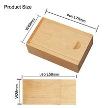 Wooden USB Flash Drive pendrive 4gb 8GB 16G 32gb