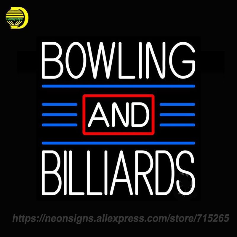 bowling and billiards