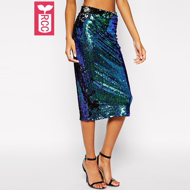 Compare Prices on Sequin Skirt Blue- Online Shopping/Buy Low Price ...