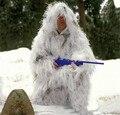 Neve de cabelos compridos Ternos Ghillie Branco Puro Recon caça roupas de camuflagem Uniformes de Combate Ao Ar Livre