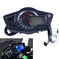 11K RPM LCD Digital Odometer Speedometer Tachometer Motorcycle Backlight