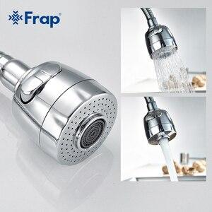 Image 3 - Frap 1 セットブラスキッチンシンクの蛇口のミキサー冷温タップ単穴水タップミキサーキッチンミキサー torneira cozinha F4303