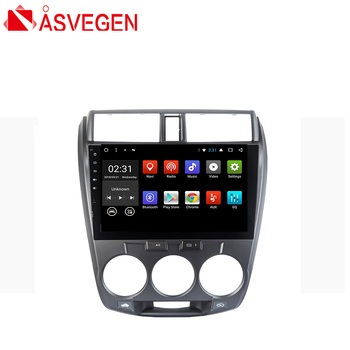 Car Player For Honda City 2008 10.2 inch Android 7.1 Quad Core Car Auto WIFI Car Vedio Radio Multimedia Player GPS Navigation
