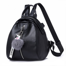 2019 Fashion Women Solid ZipperTravel backpack Female Oxford travel bag anti-theft cloth backpack School bag  Hot Sale 2017 new hot sale men backpack fashion waterproof anti theft laptop backpack women oxford cloth schoolbag school backpack for t