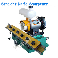 Woodworking Straight Knife Sharpener Bench Edge Grinding Machine Straight Blade Woodworking Grinder 220V 0.56KW