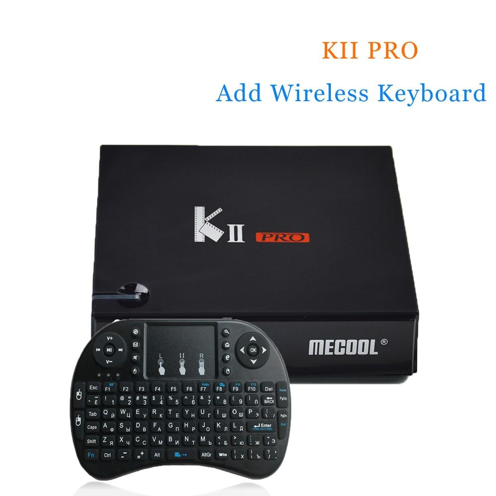 KII Pro 2G 16G Android 5.1 TV Box Amlogic S905 Quad-core 64bit 4K*2K HDMI 2.0 2.4G&5G Wifi BT 4.0 HD Media Player цены онлайн