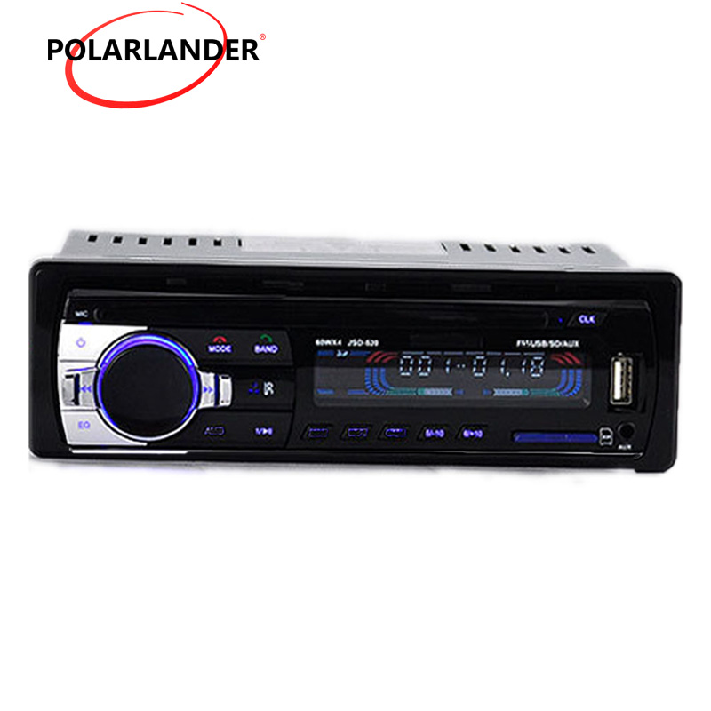 Universal 1 Din Car CD DVD Player BT Bluetooth Radio MP3 Stereo Audio Music Player Remote Control FM AUX IN USB SD Card